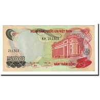 Billet, South Viet Nam, 500 D<ox>ng, Undated (1970), KM:28a, NEUF - Vietnam