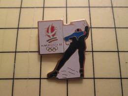 PIN715B Pin's Pins /  Rare Et De Belle Qualité : SPORTS / PATINAGE ALBERTVILLE 92 JEUX OLYMPIQUES - Winter Sports
