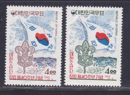 COREE DU SUD N°  285 & 286 ** MNH Neufs Sans Charnière, TB (D6323) Scouts, Anniversaire Du Scoutisme Coréen - Korea, South