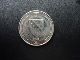BOSNIE - HERZÉGOVINE : 1 KONVERTIBLE MARKA  2002   KM 118   SUP+ - Bosnia And Herzegovina