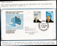 "ANTARCTIC, CASEY, FDC  ""Douglas Mawson"" , Look Scan !! 12.6-05 - FDC"