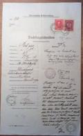 Österreich 1917 Postformular FRAGESCHREIBEN POSTANWEISUNG (FELDPOST KOLASIN MONTENEGRO  BRIEF - Briefe U. Dokumente