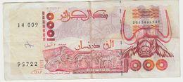 ALGERIE 1000 Dinars 1992 P142a VG+ - Algérie