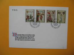 FDC    Lettre  Liechtenstein  1962 - FDC