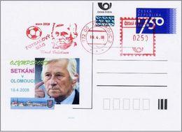 Czech Republic (08-05)  EURO 2008 Soccer Bruckner Czech Coach - Postcard - Football