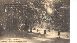 Bruxelles - CPA - Brussel - Bois De La Cambre - La Pelouse Des Anglais - Bossen, Parken, Tuinen