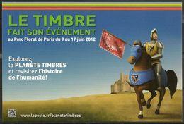 CP - LE TIMBRE FAIT SON ÉVÉNEMENT - 2 Cartes - Poste & Facteurs