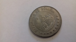 PIECE DE 1 PESO BOLIVIE 1974 - Bolivia