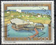 PIA - ITA - 1988 : Propaganda Turistica : Lignano Sabbiadoro - (SAS 1831) - 1946-.. République