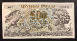 500 Lire Aretusa 23 02 1970 Q.fds   LOTTO 748 - [ 2] 1946-… : Repubblica