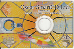 HONG KONG - Oscar Smart CD Ltd, Demo Card(CD & Chip) - Hong Kong