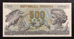 500 Lire Aretusa 23 02 1970 Fds   LOTTO 813 - [ 2] 1946-… : Républic