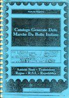 ITALY 1986 Revenue Catalogue Fiscal Tax Stamp Catalog Paolo De Magistris Italia Catalogo Marche Da Bollo Italie Italien - Italie