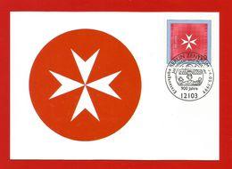 BRD 1999  Mi.Nr. 2047 , 900 Jahre Johanniter-und Malteserorden - Hagenbach Maximum Card - Berlin Zentrum 04.05.1999 - [7] Federal Republic