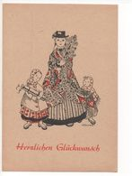 """KÜNSTLER AK  -  HAHN      """" HERZLICHEN GLÜCKWUNSCH """" - Illustrators & Photographers"""