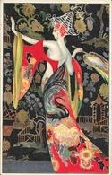 Illustration M. Montedoro - Inspirational Imagery - Femme En Robe Longue 1922 - Illustrateurs & Photographes