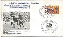 ALEMANIA 1974 FDC MUNCHEN COPA MUNDIAL DE FUTBOL FOOTBALL WORLD CUP - Copa Mundial