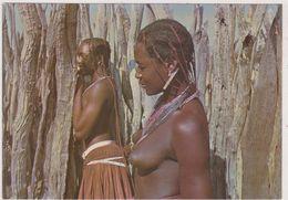 ANGOLA ,nu D'afrique,beauté Femmes Africaines,avec Tresses De Couleurs,seins Nu,sex,nue,nude - Angola