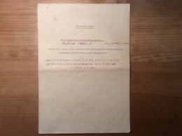 Österreich 1938 DIENSTANWEISUNG NACHPORTO 8 Seiten  (BRIEF Porto Postage Due Austria Cover Portomarken - 1850-1918 Imperium