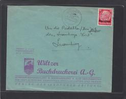 WILZER BUCHDRUCKEREI A. G. - 1940-1944 Deutsche Besatzung