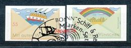 GERMANY Mi.Nr. 2848-2849 Grußmarken - Used - Gebraucht