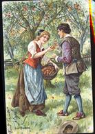 SERIE DES SAINSONS SEPTEMBRE  CP RELIEF - Fairy Tales, Popular Stories & Legends
