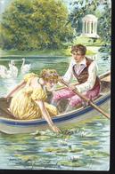 SERIE DES SAINSONS JUILLET   CP RELIEF - Fairy Tales, Popular Stories & Legends