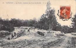METIERS Mines - 95 - TAVERNY : La Forêt - Carrière Du Pont Du Diable - CPA Val D'Oise - Mining Minen Minas Mijnen - Miniere
