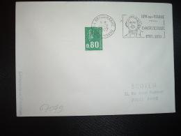 LETTRE TP M. DE BEQUET 0,80 ROULETTE OBL.MEC.19-2 1977 94 BRY SUR MARNE VAL DE MARNE DAGUERRE - Marcophilie (Lettres)