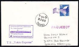 "MS""TOKIO EXPRESS"" 1976, PAQUEBOT Taipei ,LOW PRICE !! Look Scans, RARE !! 26.3-20 - Bateaux"