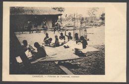 Zambèze - Fillettes à L'Internat Cousant - Cliché Burnier - Voir 2 Scans - Zimbabwe