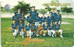 Cayman Isl. - Baseball Team, 8CCID, 1994, 20.000ex, Used - Cayman Islands