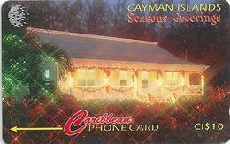 Cayman Isl. - Seasons Greetings, 189CCIA, 1997, 15.000ex, Used - Cayman Islands
