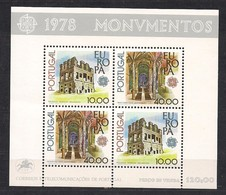 Portugal CEPT 1978 Yvertn° Bloc 23 *** MNH  Cote 25,00 Euro - Blocs-feuillets