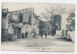 FESTALEMPS  24 DORDOGNE PERIGORD LA PLACE DE L'EGLISE - France