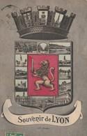 Dép. 69 - Lyon. - Souvenir De Lyon.. A. G. Lyon. Voyagée 1906 - Lyon