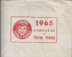 Carnaval Torres Vedras 1965. Carnival. Carnevale. Stamp Congress Automobile Traffic. Vitivinicultura. Vinho. - Cinéma & Theatre