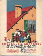 NOUVELLES CHANSONS DE LA VIEILLE LORRAINE AVEC PARTITIONS - Spartiti