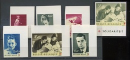 1963 Famille Princière Albert Et Paola Et Enfants 1262/68   Non Dentelés   Tirage De 300 Exseulement - Belgique