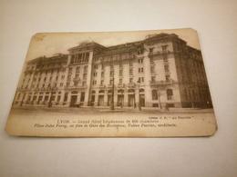 238/ LYON GRAND HOTEL LUGDUNUM DE 400 CHAMBRES PLACE JULES FERRY EN FACE DE LA GARE DES BROTTEAUX - Autres
