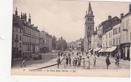 CPA (88) SAINT DIE La Place Saint Martin - Saint Die