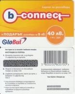 BULGARIA - B-connect By Globul Prepaid Card 40 Leva, No Exp.date, Sample - Bulgaria