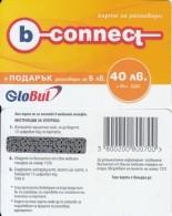 BULGARIA - B-connect By Globul Prepaid Card 40 Leva, Sample(no CN) - Bulgaria