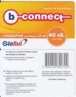 BULGARIA - B-connect By Globul Prepaid Card 40 Leva, Sample - Bulgaria