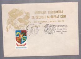 DOG, CCOVER SPECIAL ROMANIA 1980, EXPOCANIS ORADEA 1980 - Honden