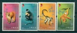 HONG KONG CHINA 1101/04 Nouvel An - Année Du Singe - 1997-... Région Administrative Chinoise