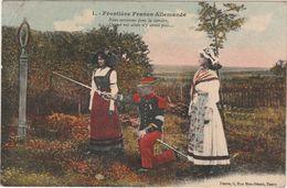 CPA 1915 / Frontière Franco Allemande / 172 ème Régiment Infanterie / Giromagny 90 - 1914-18