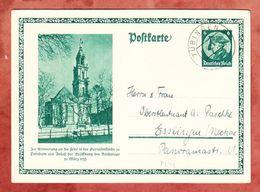 P 248 Garnisonkirche Potsdam, Tuebingen Nach Esslingen 1933 (48951) - Ganzsachen