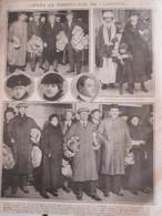 Guerre 14-18 Après Le Torpillage Du LACONIA  1917 - Vieux Papiers
