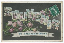 CPA FANTAISIE SOUVENIR DE CHALONS SUR MARNE, MARNE 51 - Châlons-sur-Marne
